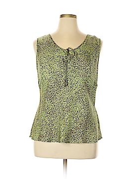 Avenue Sleeveless Silk Top Size 14 - 16 Plus (Plus)