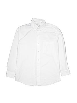 Tom Sawyer Long Sleeve Button-Down Shirt Size 16