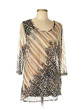 Lynn Ritchie 3/4 Sleeve Top Size XL
