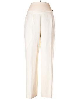 Le Suit Linen Pants Size 12 (Petite)