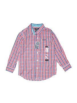 IZOD Long Sleeve Button-Down Shirt Size 6 - 7