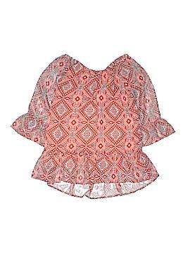 Speechless 3/4 Sleeve Blouse Size X-Large (Kids)