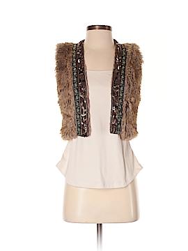 Boutique XXI Faux Fur Vest Size S