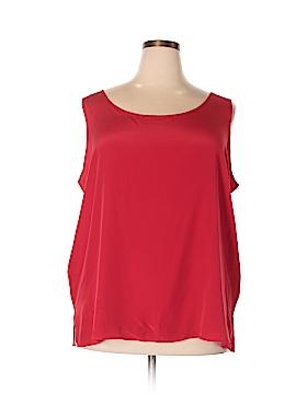 Charter Club Sleeveless Silk Top Size 3X (Plus)