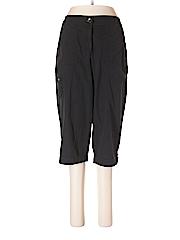 Barbara Lesser Fibers Women Cargo Pants Size 12