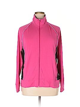 Danskin Track Jacket Size 2X (Plus)