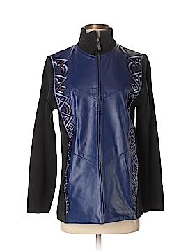 Bob Mackie Leather Jacket Size XS