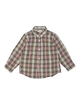 Neck & Neck Long Sleeve Button-Down Shirt Size 4