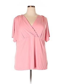NYC Short Sleeve Blouse Size 2X (Plus)