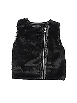 KensieGirl Faux Fur Vest Size 6
