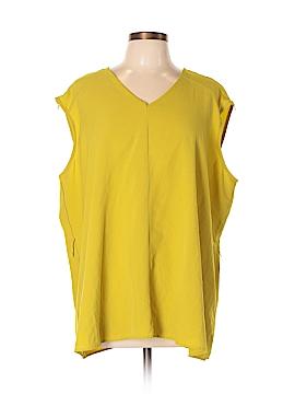 Simonton Says Sleeveless Blouse Size 2X (Plus)