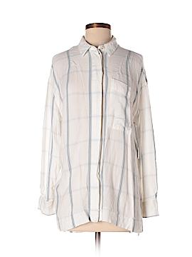 BDG Long Sleeve Button-Down Shirt Size S (Petite)