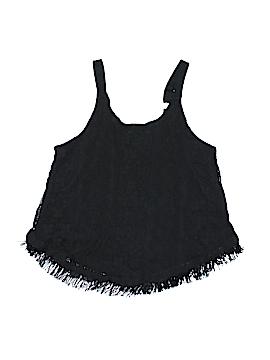 D-Signed Sleeveless Blouse Size 7 - 8