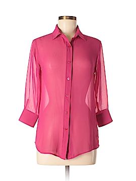 Ines de la Fressange for Uniqlo 3/4 Sleeve Blouse Size XS