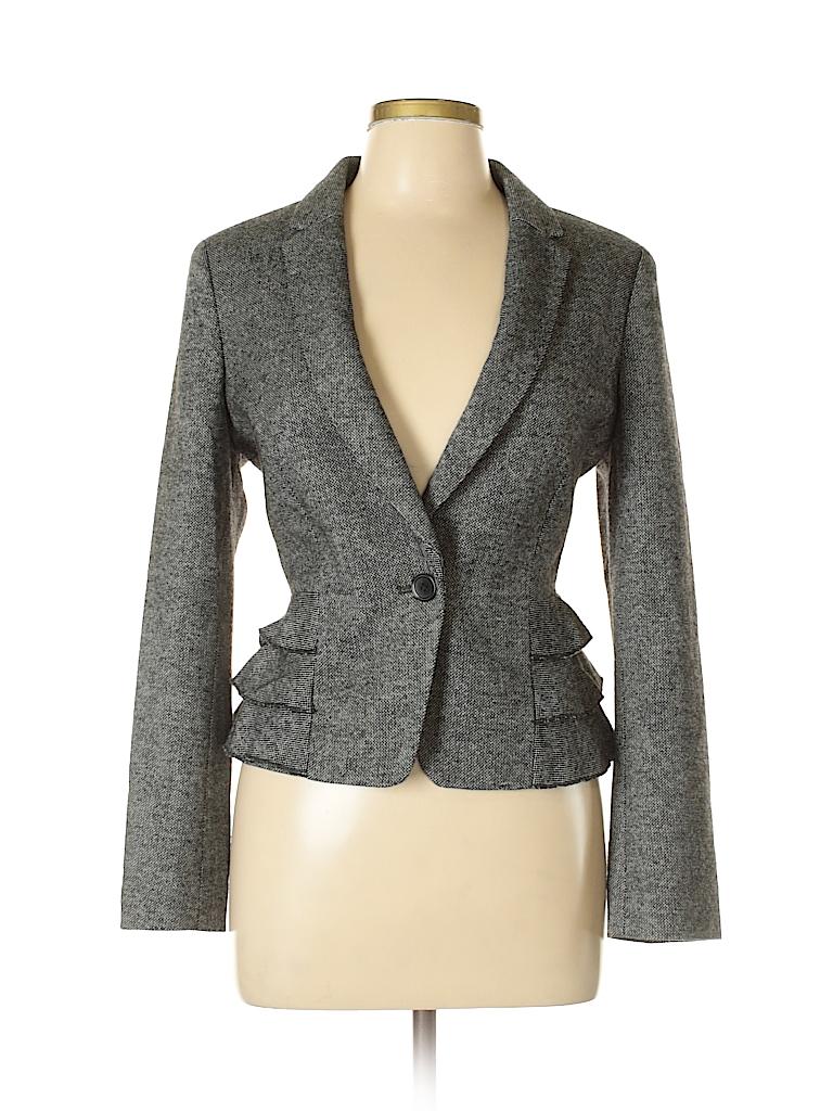 Ann Taylor Women Blazer Size 12 (Petite)