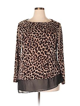 DB Studio Pullover Sweater Size 1X (Plus)