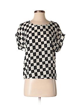 Liva Girl Short Sleeve Blouse Size S