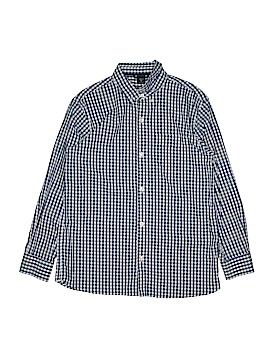 Gap Kids Long Sleeve Button-Down Shirt Size XX-Large youth Husky (Husky)