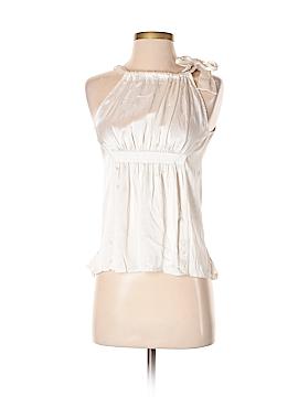 BCBGMAXAZRIA Sleeveless Silk Top Size XS
