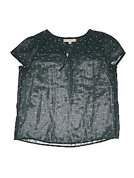 Ann Taylor LOFT Short Sleeve Blouse Size 1 (Petite)