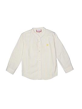 Neck & Neck Long Sleeve Button-Down Shirt Size 2