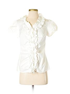 Ann Taylor LOFT Outlet Short Sleeve Blouse Size 2