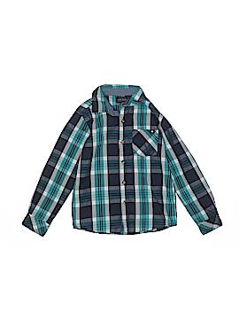 Lucky Brand Long Sleeve Button-Down Shirt Size 6