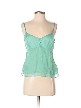 Fiori di Zucca Sleeveless Silk Top Size 4