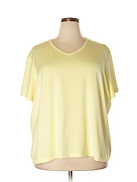 Susan Graver Short Sleeve T-Shirt Size 3X (Plus)