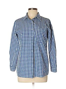 HaoDuoYi Long Sleeve Button-Down Shirt Size XL