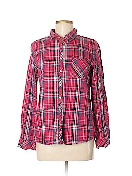 Lovestitch Long Sleeve Button-Down Shirt Size M