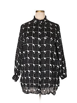 Josephine Long Sleeve Button-Down Shirt Size 22W (Plus)
