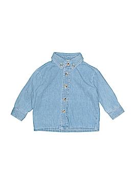 B.T. Kids Long Sleeve Button-Down Shirt Size 12 mo