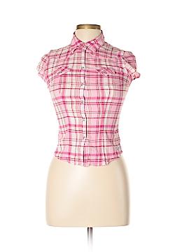 Abercrombie Short Sleeve Button-Down Shirt Size L