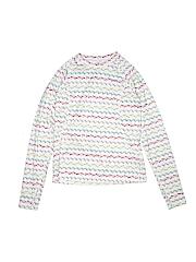 Lands' End Girls Active T-Shirt Size 10 - 12