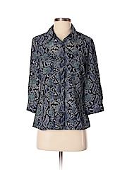 Elementz Women 3/4 Sleeve Blouse Size M (Petite)