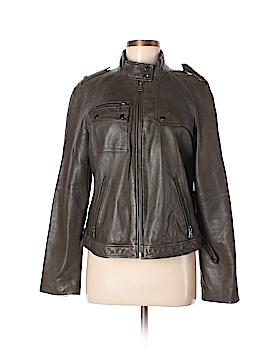 Banana Republic Leather Jacket Size L