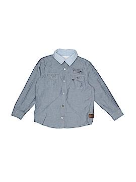 Joe Fresh Long Sleeve Button-Down Shirt Size 5