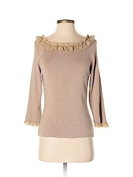 Joseph A. Silk Pullover Sweater Size S