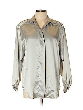 Christie & Jill Long Sleeve Blouse Size M