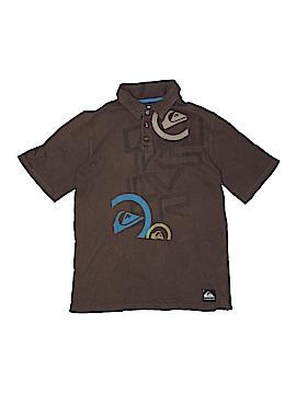 Quiksilver Short Sleeve Polo Size 16 - 18