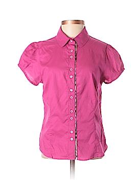 Burberry Short Sleeve Button-Down Shirt Size S