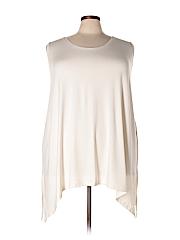 Catherines Women Sleeveless Top Size 2X (Plus)