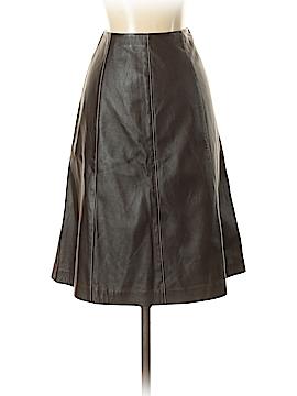St. John Leather Skirt Size 2