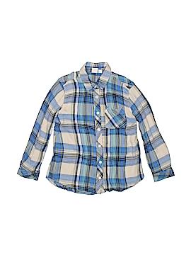 Gap Long Sleeve Button-Down Shirt Size 6-7