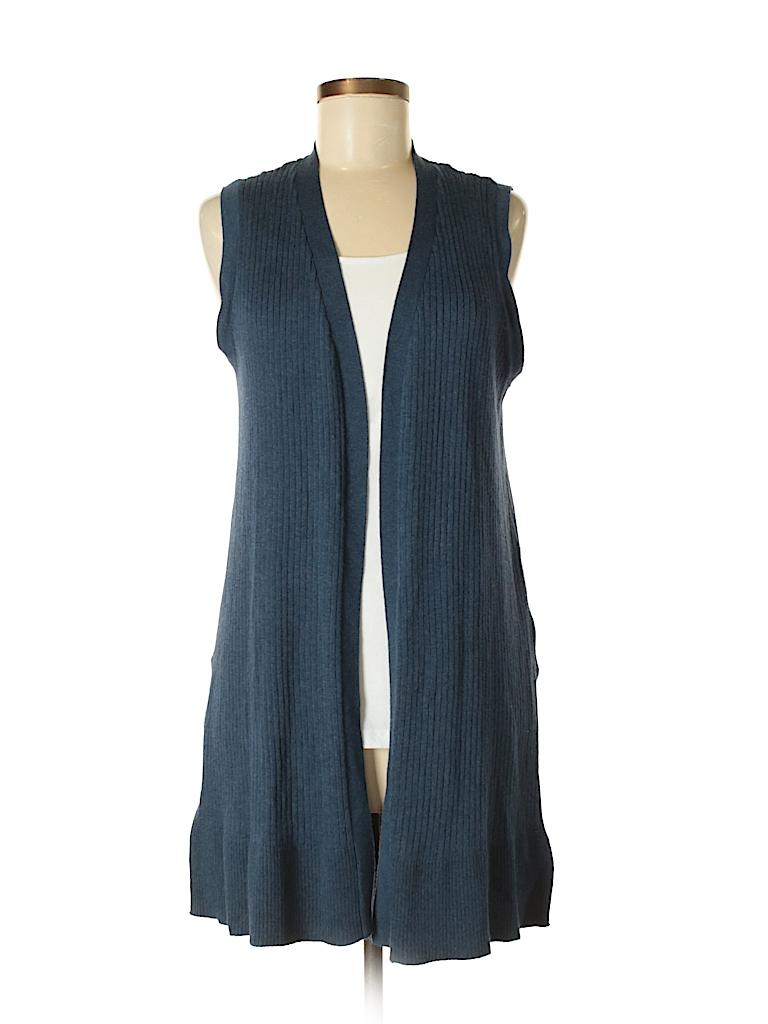 89th Madison Solid Blue Cardigan Size M 95 Off Thredup