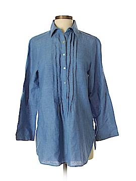 Max Studio Long Sleeve Button-Down Shirt Size S