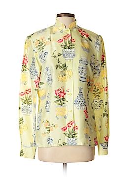 Carlisle Long Sleeve Silk Top Size 4