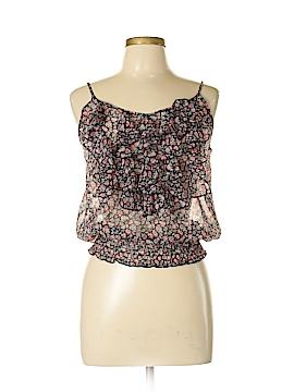 Bongo Sleeveless Button-Down Shirt Size L