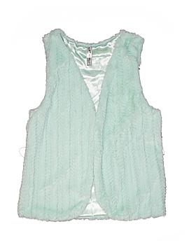 Knit Works Faux Fur Vest Size X-Large (Kids)